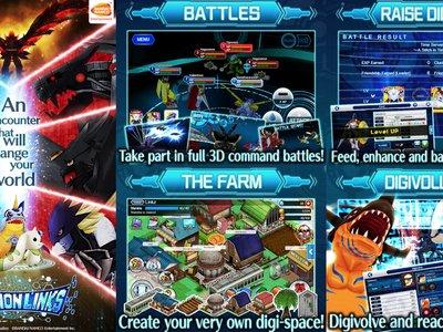 DigimonLinks: el juego de batallas 3D entre los Digimons más populares