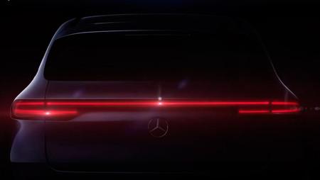 Mercedes-Benz EQC, teasers