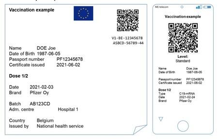 Certificado Vacunacion