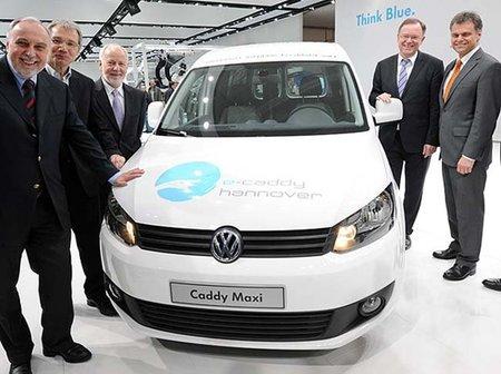 Volkswagen presenta la versión eléctrica de la Caddy