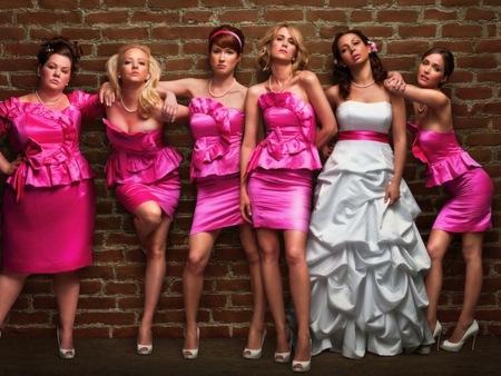 La boda de mi mejor amiga: vestidos para damas de honor