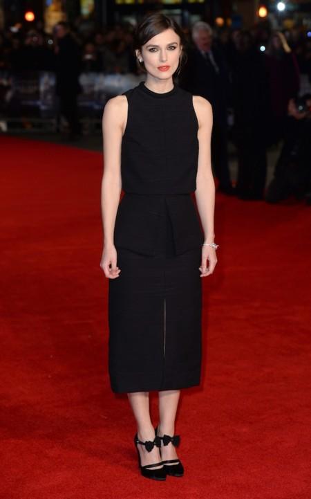 Keira Kinghtley Black Dress