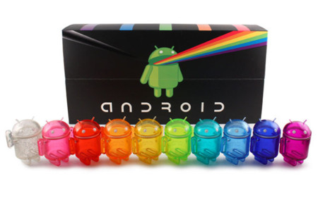 "El pack de figuras Android Mini ""Rainbow Set"" ya a la venta"