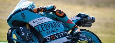 Jaume Masiá lidera una accidentada jornada de entrenamientos libres de Moto3 en Barcelona