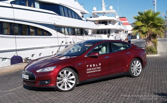 Tesla Model S prueba en Ibiza 05