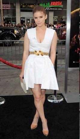 Rooney y Kate Mara, dos muñecas en la premiere de Pesadilla en Elm Street