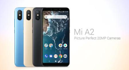 Xiaomi Mi A2 Camaras