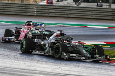 Hamilton Perez Turquia F1 2020