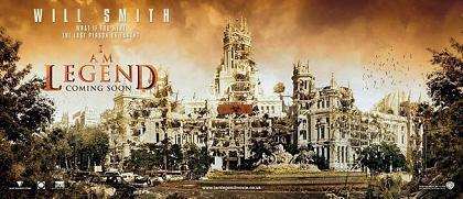Curiosos nuevos posters de 'Soy Leyenda'
