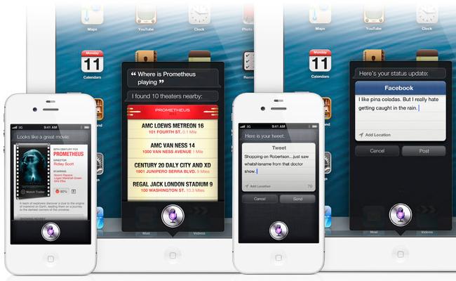 Nuevas funciones de Siri en iOS 6