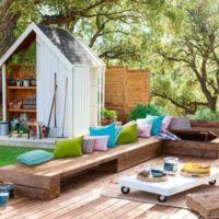 Plan jardinería y tiempo libre: Cómo elegir una caseta para un jardín bonito