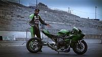 La Kawasaki Ninja H2 de Rickey Gadson
