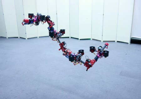Este robot vuela y cambia de forma en el aire para adaptarse al entorno: conozcan a 'DRAGON'