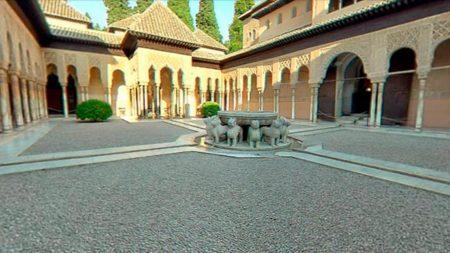 Patio de los leones de la Alhambra - Vistazoo