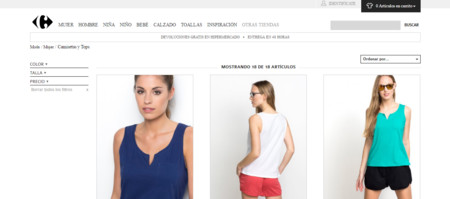 Carrefour Moda Online 2