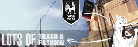Vaho: una tienda de bolsos reciclados