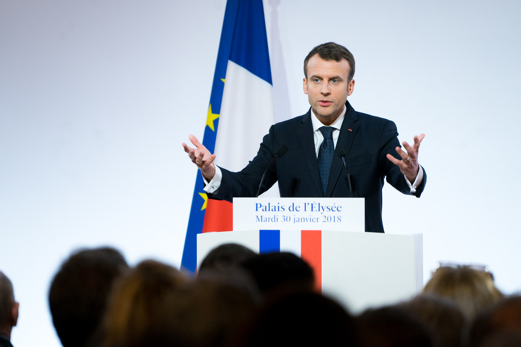 Macron anuncia una inversión de 5.000 millones en startups francesas para tratar de tener el ecosistema líder