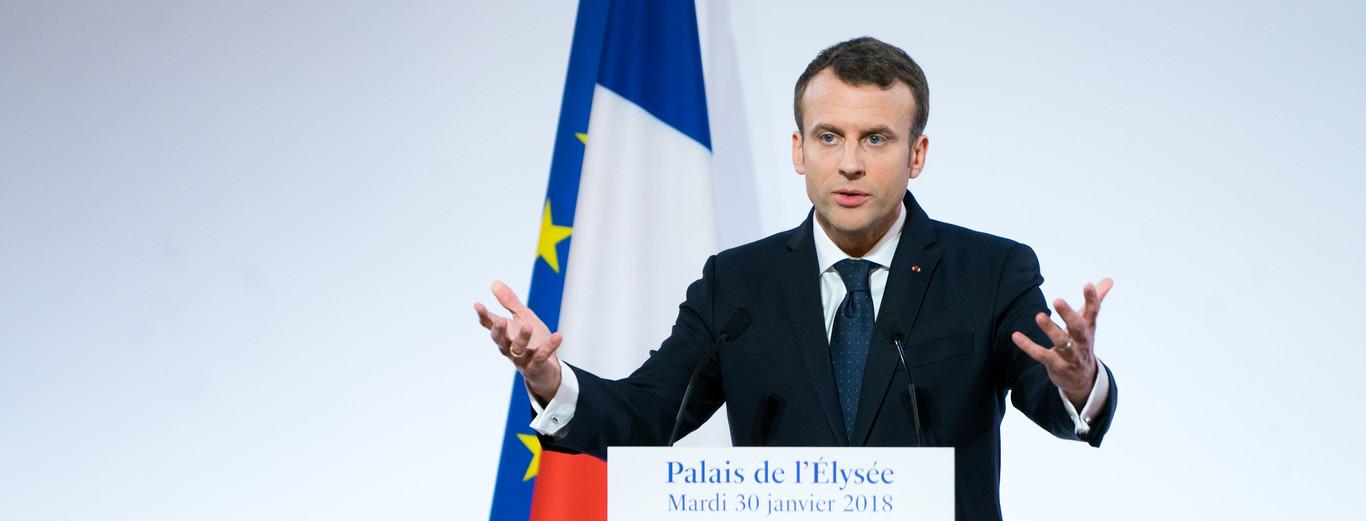 Macron anuncia una inversión de 5.000 millones en startups francesas para tratar de tener el ecosistema líder #lomásvisto