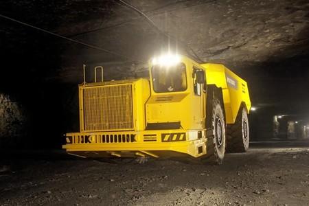 Maquinaria eléctrica minas