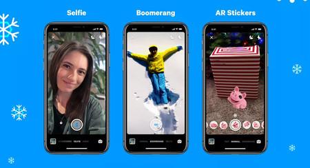 Facebook Messenger añade modo retrato, stickers con realidad aumentada y efecto 'Boomerang'