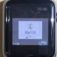 ¿Ejecutar Macintosh OS 7.5.5 de 1996 en un Apple Watch de 2015? sí, es posible