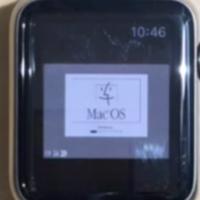 ¿Ejecutar Macintosh OS 7.5.5 de 1996 en un Apple Watch de 2015? sí, es posible