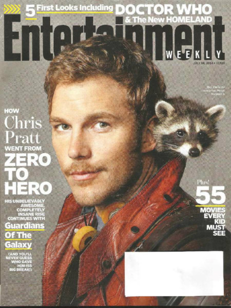 Entertainment Weekly Revista Chris Pratt 17030 Mlm20131339426 072014 F