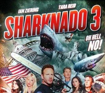 'Sharknado 3: Oh Hell No!', tráiler y cartel prometen sobredosis de cameos y tiburones