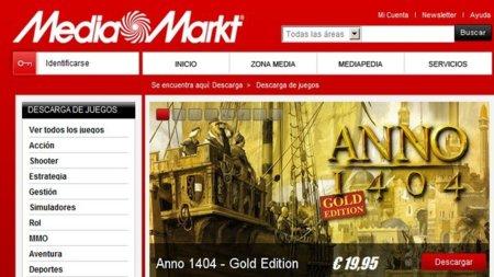 Media Markt se apunta a la descarga de videojuegos