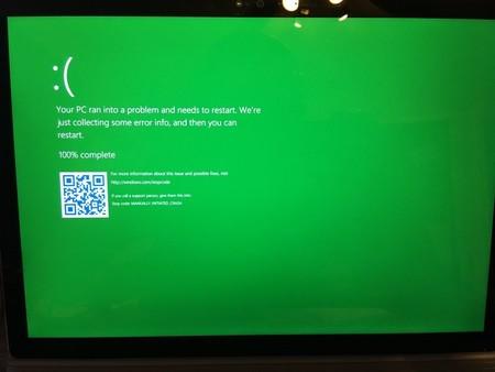 Pantallazo Verde De La Muerte En Windows 10