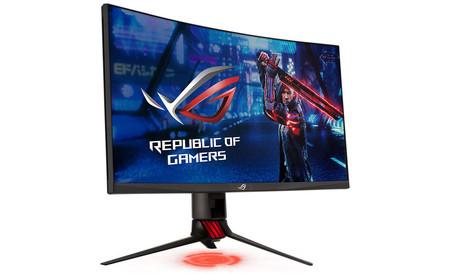 ROG Strix XG27WQ: pantalla curva, 1440p y 165 Hz para el nuevo monitor gaming de ASUS