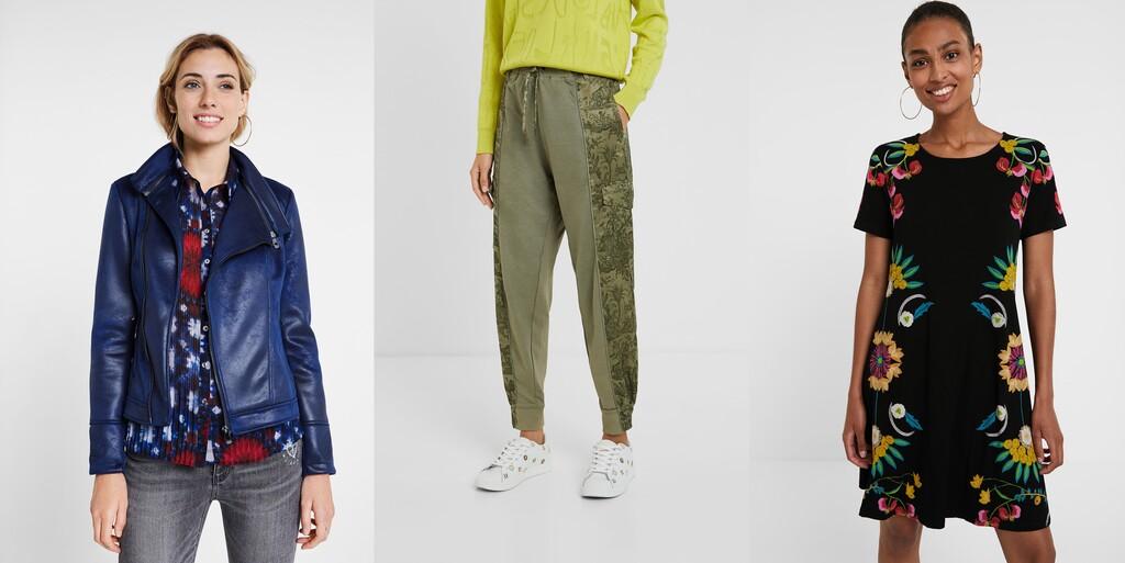 30% de descuento en la Mid Season Sale de Desigual con rebajas en faldas, vestidos, pantalones o abrigos