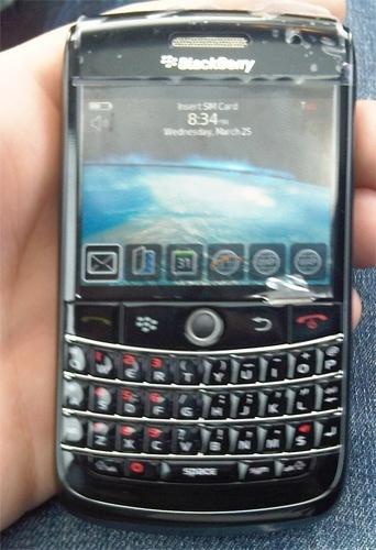 BlackBerry 9600, ¿lo próximo de RIM?