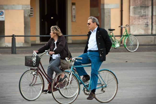 Bicicleta en Italia