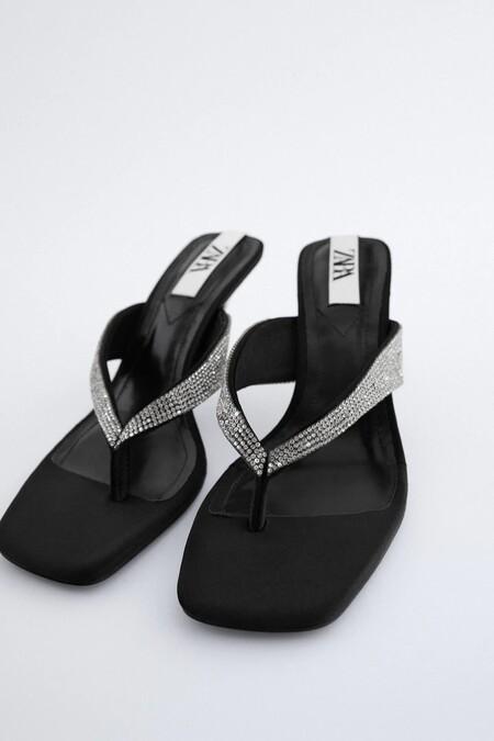 Zapatos Zara Strass Navidad 08