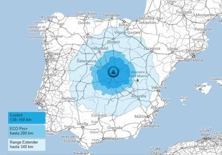 BMW i3 desde Madrid