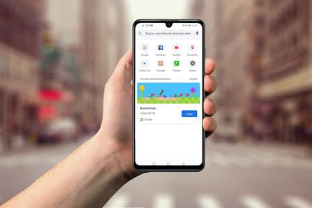 """Google Chrome prueba a añadir el """"minijuego del día"""" en la página de nueva pestaña"""