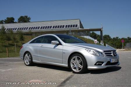 Mercedes-Benz E Coupé 350 CDI, prueba (parte 3)