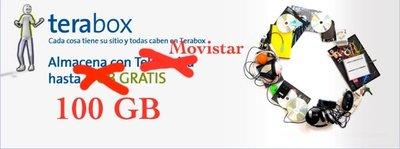 Movistar regala a sus clientes 100 GB de espacio en Terabox
