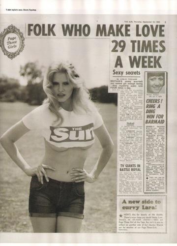 ¡Mira, Mamá, tengo curvas y no soy perfecta pero soy la modelo del momento! por Lara Stone, The Sun