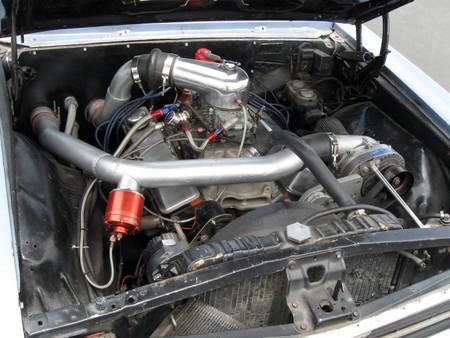 Compresión centrífugo montado en un coche
