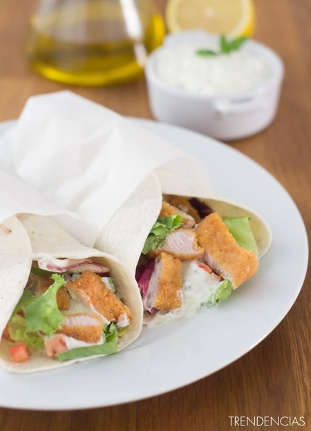 Wraps de pavo con salsa tzatziki y Won Tons coreanos en la quincena gourmet de Trendencias Lifestyle (XXX)