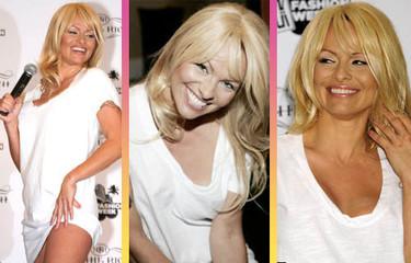 Pamela Anderson promociona moda ecológica y se cambia de look