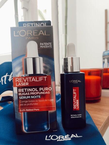 sérum de noche Revitalift Láser con retinol puro de L'Oreal París