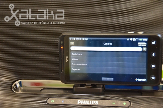 Philips Fidelio AS851 prueba