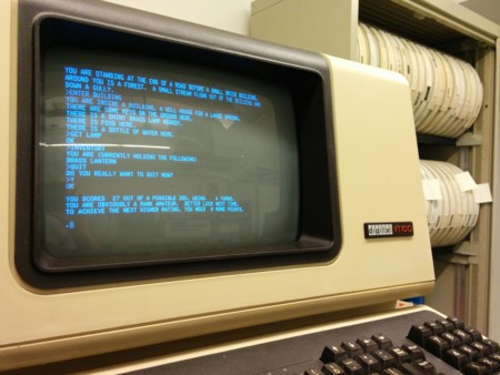 Colossal Cave Adventure On Vt100 Terminal