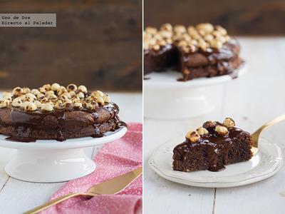 Tarta de Nutella de Nigella Lawson. Receta para San Valentín