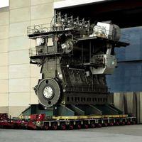 Así es el motor diésel más potente del mundo, desarrolla 107.400 CV y en vídeo es impresionante