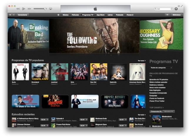 Contenido Apple TV