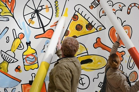 mural colorear 2